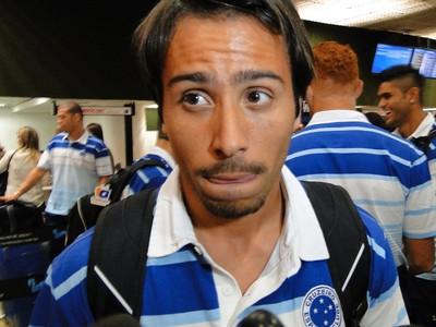 Martinuccio, atacante do Cruzeiro (Foto: Léo Simonini)