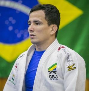 Felipe Kitadai treinamento Pan de Toronto Mangartiba judo (Foto: Divulgação/CBJ)