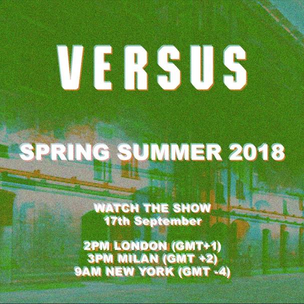 Versus Versace verão 2018 (Foto: Divulgação)