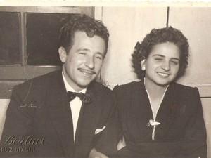 Casal se casou em 1956, em Santa Cruz do Sul (Foto: Elizabeth Teixeira/Arquivo Pessoal)