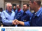Michel Temer visita Campina Grande e autoriza obras na BR-230 na Paraíba