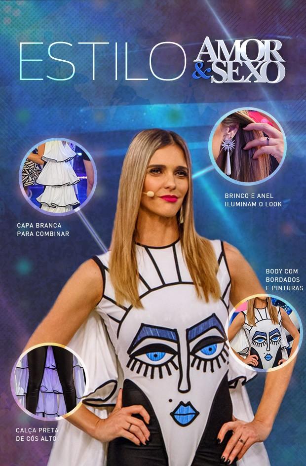 Look Fernanda Lima - Tema Olhos (Foto: Amor & Sexo / Gshow)