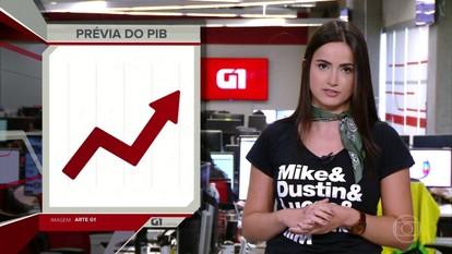 G1 em 1 Minuto: economia brasileira volta a crescer