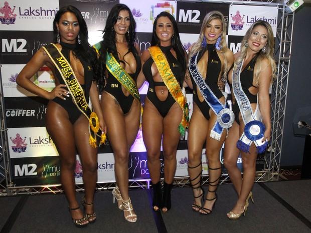 Final do Musa do Brasil em São Paulo (Foto: Celso Tavares/ EGO)