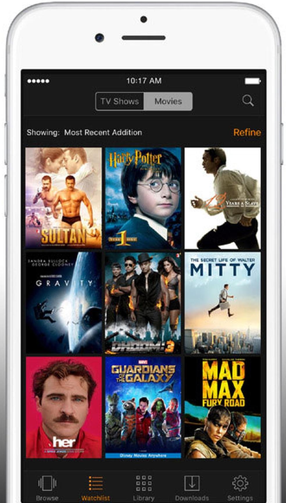 Amazon Prime Video, serviço de streaming de vídeo da Amazon (Foto: Divulgação/Amazon)