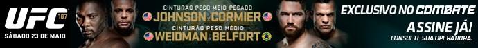Header UFC 187 (Foto: Editoria de arte)