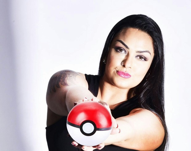 Mulher Melancia faz ensaio inspirado no Pokémon Go (Foto: Carioca Times/R2assessoria)