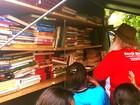 Incêndio destrói cinco mil livros de projeto de inclusão literária em Cuiabá