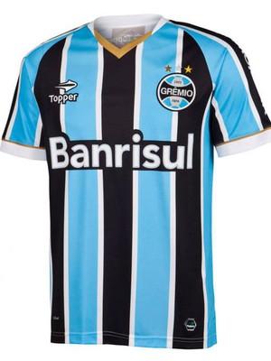 dc48b46ef4 Grêmio divulga nova camisa para a disputa da Libertadores 2014 ...