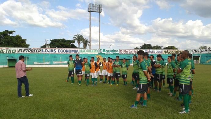 Tocantinópolis treina para enfrentar o Juventude na Copa do Brasil (Foto: Divulgação)