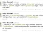 Dilma troca mensagens no Twitter com Neymar, Ronaldo e Kaká