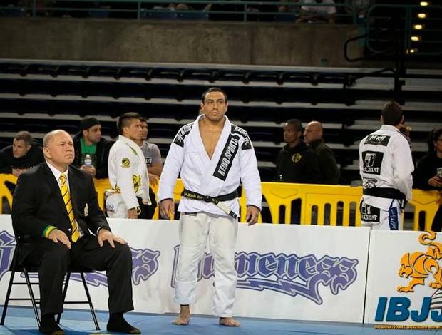 Tiago Rocha jiu-jitsu Uberlândia Pan-Americano (Foto: Divulgação/Pan-Americano)