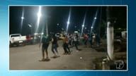 """Jovens realizam """"Blitz do Cristoval"""" para divulgar maior retiro religioso do oeste do Pará"""