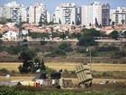 Avião israelense ataca Faixa de Gaza em resposta a foguete palestino