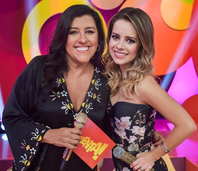 Sandy participou do 'Esquenta' e falou sobre carreira (Foto: TV Globo/ Mauricio Fidalgo)