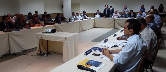 Reunião da Liga Nordeste aconteceu em Aracaju (Foto: Givaldo Batista / FSF)