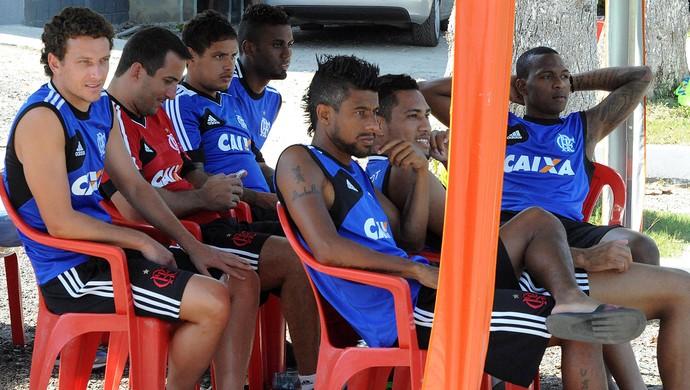 Flamengo x São João da Barra, jogo treino (Foto: Alexandre Vidal / Flaimagem)