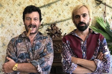 Roberto Birindelli e Julio Andrade em '1 contra todos' (Foto: Divulgação)