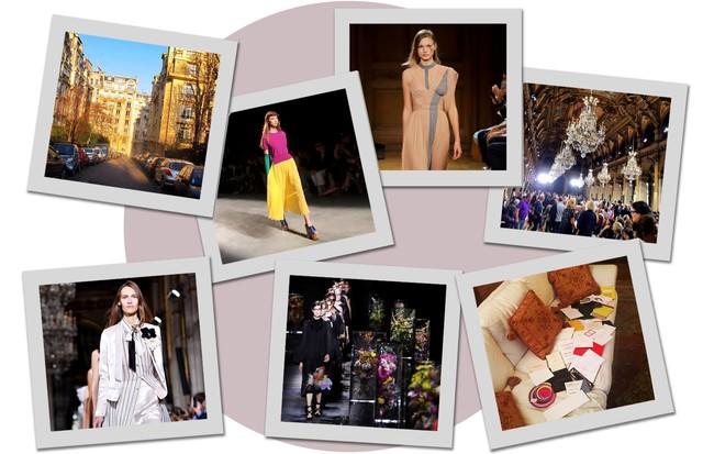 Cenas da quarta-feira em Paris (Foto: Arte Vogue Online)