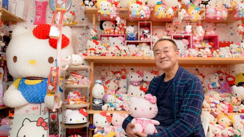 """""""A Hello Kitty é o amor da minha vida"""", afirma o colecionador (Foto: Divulgação )"""