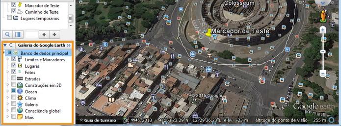 Personalização de itens no mapa (Foto: Reprodução/Barbara Mannara)