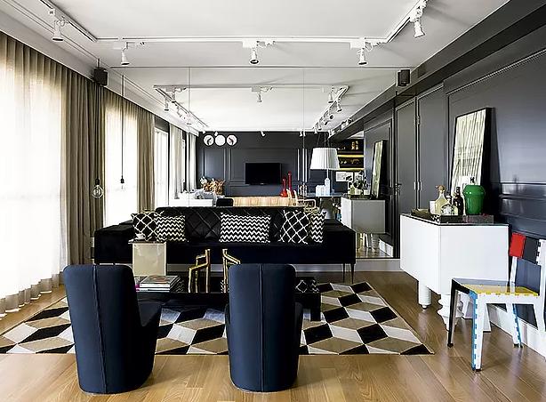 3-decoração-sala-pequena-dicas-para-aumentar-o-espaço-espelho (Foto: Edu Castello/Editora Globo)