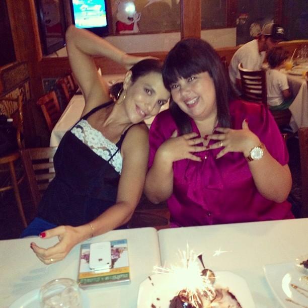 Ivete Sangalo e Fabiana Karla (Foto: Instagram/Reprodução)