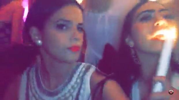 Bruna Marquezine (Foto: Snapchat / Reprodução)