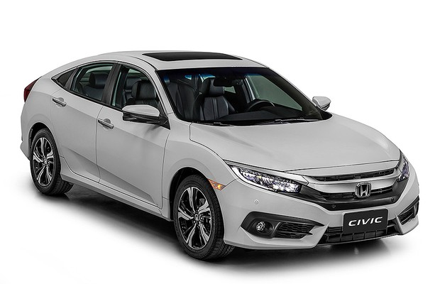 Honda Civic Touring 2017 (Foto: Honda)