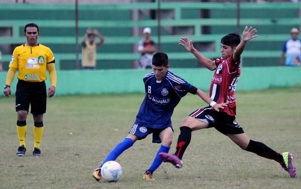Campeonato Amazonense Infantl Confusão Manaus Tarumã (Foto: Antonio Lima/Semjel)