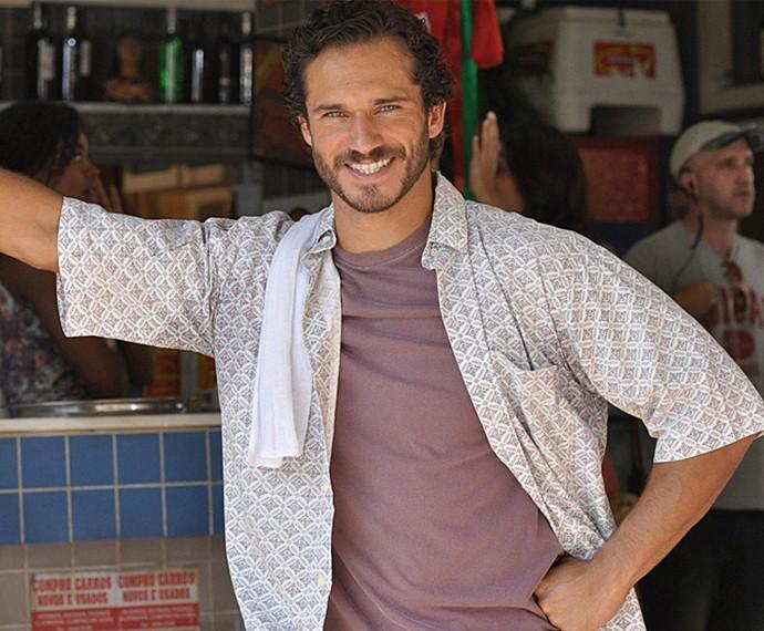 Paulo Rocha será Dino, marido de Gilda e padrasto de Eliza (Foto: TV Globo)