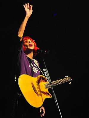 Rita Lee (Foto: Andrea Gisele/G1)