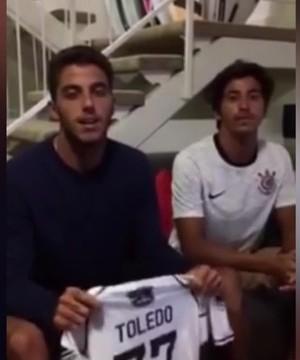 Filipe Toledo Corinthians (Foto: Reprodução/ YouTube)