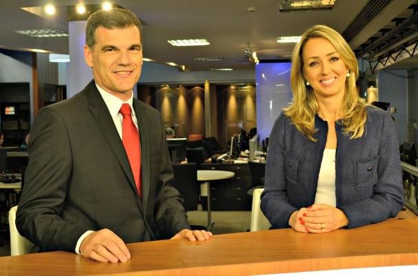 Elói Zorzetto e Carla Fachim (Foto: Gabriela Haas/RBS TV)