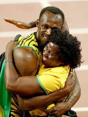 Usain Bolt Dia das Mães (Foto: Reprodução / Instagram)