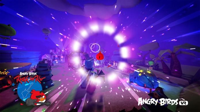 Angry Birds VR traz uma experiência de voo em realidade virtual (Foto: Divulgação)