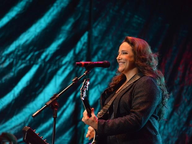Ana Carolina em show no Recife (Foto: Felipe Souto Maior/ Ag. News)