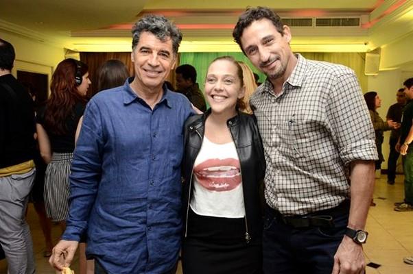Paulo Betti, Isabela Garcia e Tuca Andrada (Foto: TV Globo / Estevam Avellar)