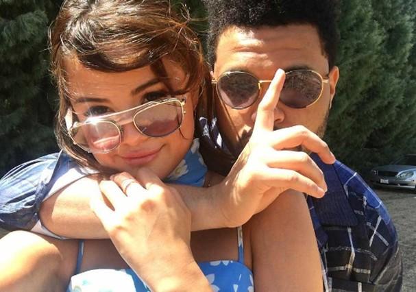 Selena Gomez e The Weeknd (Foto: Instagram/Reprodução)