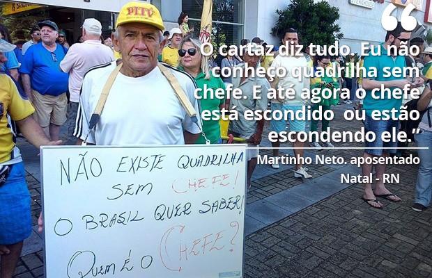 Protesto Natal 16/08 (Foto: Felipe Gibson)