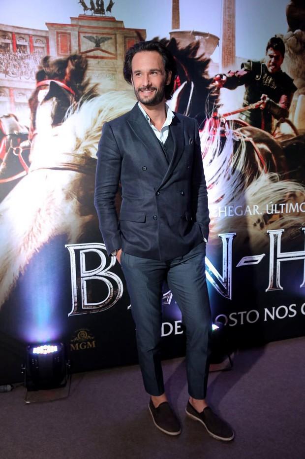 Rodrigo Santoro na pré-estreia de Ben-Hur (Foto: Divulgação)