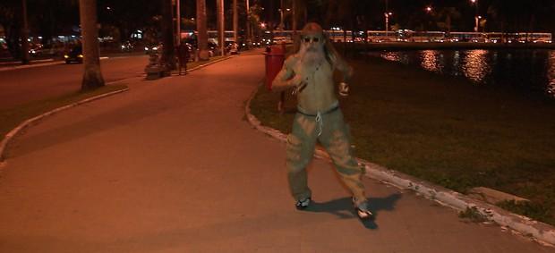 Cícero Ezequiel, bancário, atleta de corridas de rua de João Pessoa (Foto: Reprodução / TV Cabo Branco)