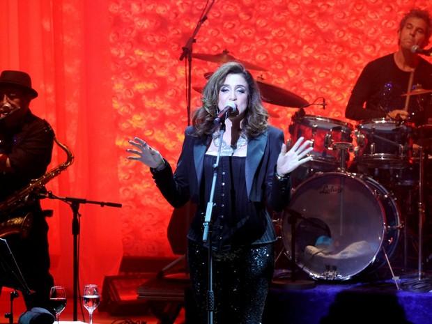 Marisa Orth em show em São Paulo (Foto: Paduardo/ Ag. News)