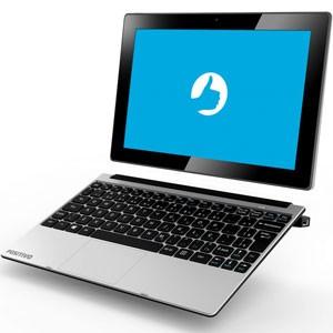 Computador e tablet da fabricante brasileira de eletrônicos Positivo. (Foto: Divulgação/Positivo)