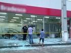 Agência bancária é destruída após explosão de caixa eletrônico no PR