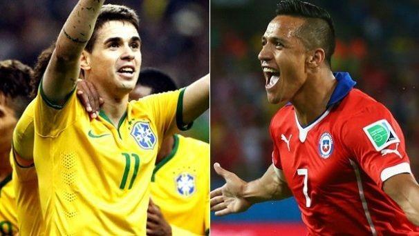 Brasil e Chile na TV Sergipe (Foto: Divulgação/TV Sergipe)
