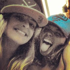 Isis Valverde e a prima Mayara Nable (Foto: Reprodução/ Instagram)
