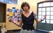Pedro trocou de roupa com Karina só pra ela se sentir melhor (Foto: Malhação / TV Globo)