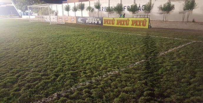 Estádio Valfredão, Jacuipense e Bahia (Foto: GloboEsporte.com)
