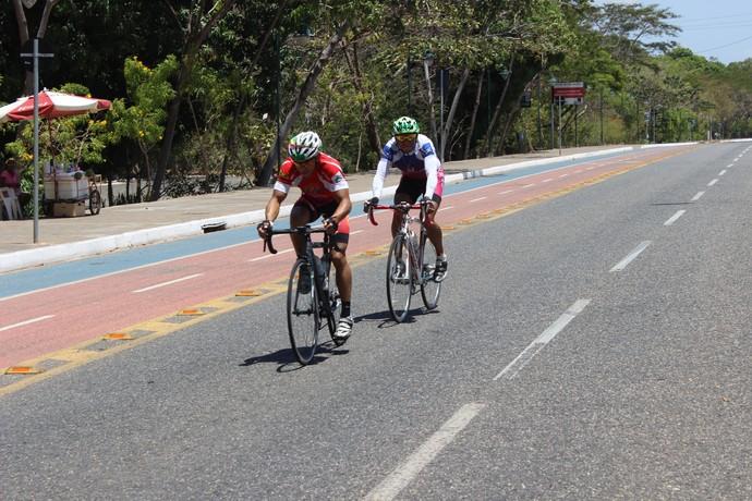 Quarta etapa do Piauiense de Ciclismo (Foto: Wenner Tito)